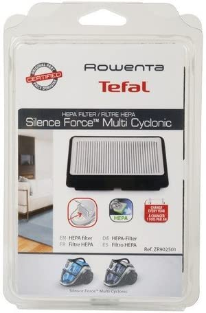 Filtro HEPA ZR902501 EX RS-RT4109 para aspiradora Rowenta Silence Force Multiclonic RO8366 - RO8364 - RO8366 - RO8343 - RO8313 - RO8374 - RO8376 - Recambio original.: Amazon.es: Hogar
