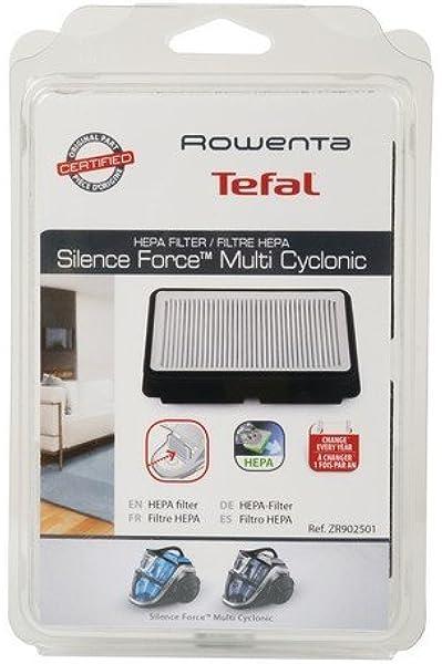 Filtro HEPA zr902501 Ex rs-rt4109 para aspiradora Rowenta Silence Force Multicyclonic ro8366 – ro8364 – ro8366 – ro8343 – ro8313 – ro8374 – ro8376 Repuesto Original: Amazon.es: Hogar