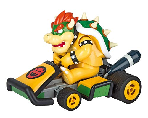 Carrera 162112 RC 1:16 Mario Kart, Bowser-Race Kart, 2.4 GHz (Remote Control Bowser)