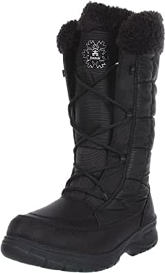 Amazon.com | Kamik Women's New York Snow Boot, Black, 10 M