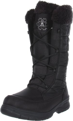 Kamik Womens New York Snow Boot Black 5FREVqXTP