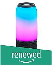 JBL Pulse 3 Wireless Bluetooth IPX7 Waterproof Speaker (Black) (Renewed)