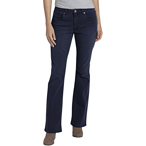 Cheap Dickies Women's Perfect Shape Denim Jean-Bootcut Stretch