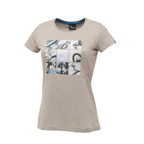 Dare 2b - Camiseta para mujer gris