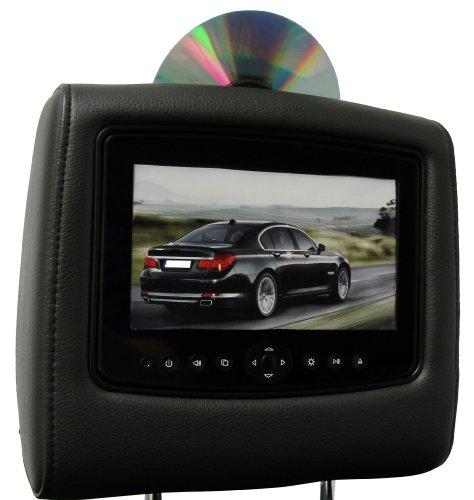 CarShow by Rosen CS-NSFRO11-B15 Single DVD Headrest System