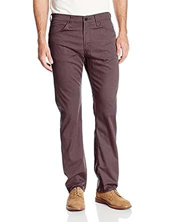 Levi's Men's 513 Slim Straight Fit Line 8 Twill Pant, Rum Melange, 42x32
