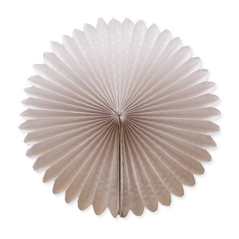 Funcart White Paper Fan 12 Inches