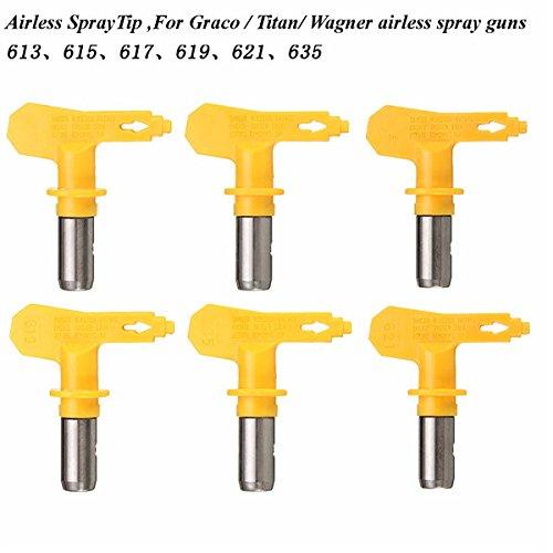 EsportsMJJ Airless Spray Gun Tips 6 Series 13-35 For Wagner Atomex Graco Titan Paint Spray Tip - 17