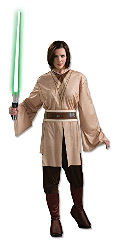 Science Fiction Costumes Female (Rubie's Women's Star Wars Jedi Costume, Brown, One Size)