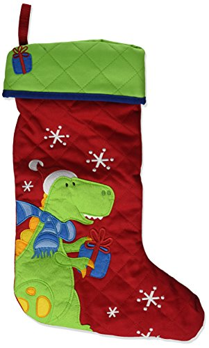 Stephen Joseph Christmas Stocking Dino