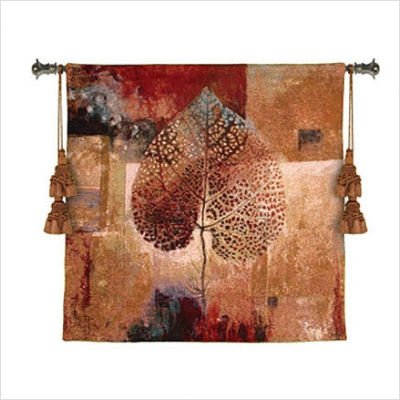 Fine Art Tapestries ''Abstract Autumn'' Wall Tapestry, Small by Fine Art Tapestries