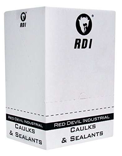 Red Devil 08160I12 08160I RD Pro Industrial Grade Rtv 100% Silicone Sealant Case of 12, White by Red Devil (Image #2)