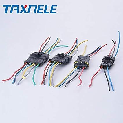 Davitu Connectors - Auto Wire Connector 1P 2P 3P 4 5 6P ... on