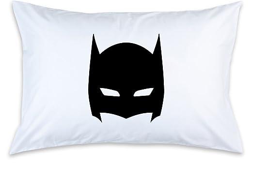 Amazon.com: Funda de almohada de los niños, Batman máscara ...