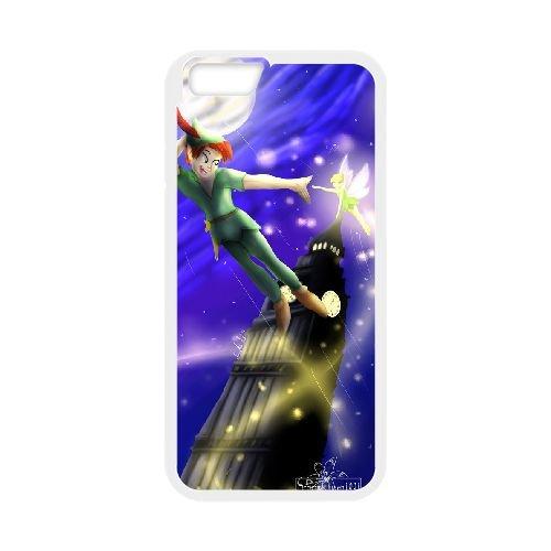Peter Pan 014 coque iPhone 6 Plus 5.5 Inch Housse Blanc téléphone portable couverture de cas coque EEEXLKNBC19182