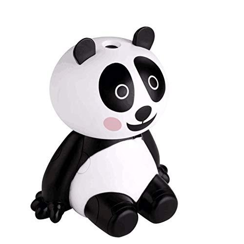 FeiFei66 Panda Humidifier Essential Oil Diffuser Aroma Essential Oil Cool Mist Humidifier White