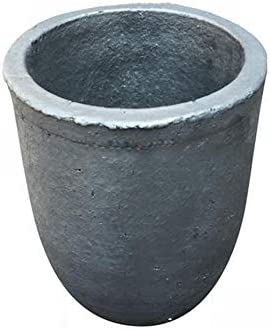 Dumadf Gießerei-Siliciumcarbid-Graphit-Tiegel-Schale, die Goldsilber-Kupfer-Messing-Aluminium für 8KG Kupfer oder 3KG Aluminium veredelt