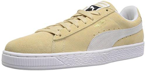 En Pour White Hommes Chaussures Puma White Daim puma puma Classiques Pebble wO6AUE