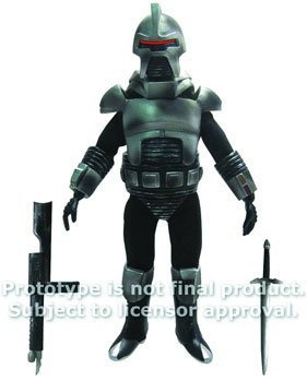 Biff Bang Pow Mego Style Battlestar Galactica Cylon Battle Damaged Figure