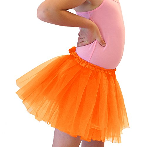 Halloween Orange Dance or Ballet Tutu Skirt for (Tutu Rose Halloween)