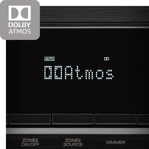 Denon AVR-X3500H Receiver (2018 Model) - 8 HDMI Input/3 Output & Enhanced Audio Return Channel (eARC), HDR10, 3D Video Support | Super High Power, 7.2 Channel 4K Ultra HD Video | Dolby Surround Sound by Denon (Image #4)