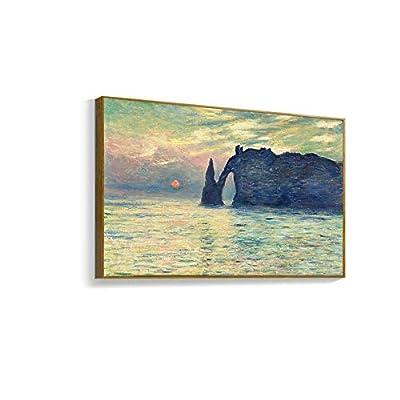 Framed for Living Room Bedroom Monet for