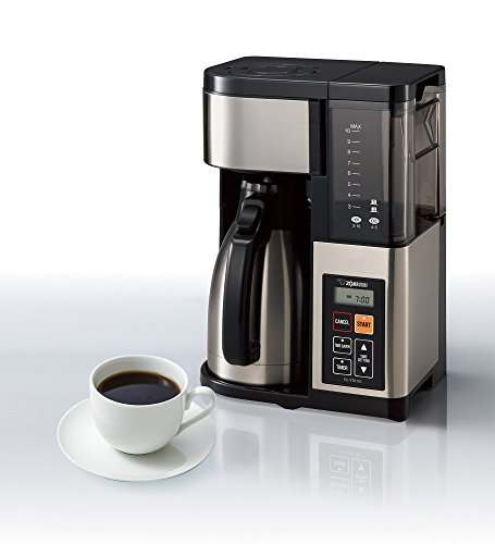 Zojirushi Ec Ytc100xb Coffee Maker 10 Cup Stainless