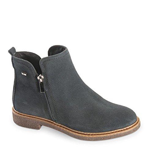 donna 49233 36 tronchetti inverno in scarpe camoscio 2018 Valleverde blu eu AdqxAZ