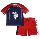 U.S. Polo Assn. Boys' 2-Piece Swimsuit Trunk and
