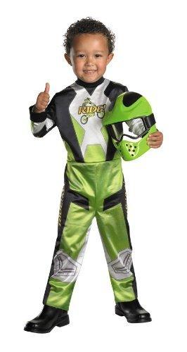 Lil Motocross Racer Child Costume Size 4-6 (Racer Costume For Boys)