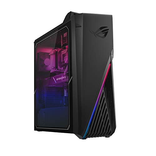ROG Strix G15CK Gaming Desktop PC, Intel Core i7-10700KF, GeForce RTX 2060 Super, 16GB DDR4 RAM, 512GB SSD, Wi-Fi 6, ROG…
