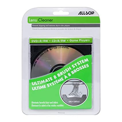 allsop cd cleaner  : Allsop CD Laser-Lens Cleaner: Home Audio & Theater