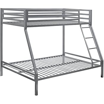 Amazon Com Your Zone Premium Twin Over Full Bunk Bed