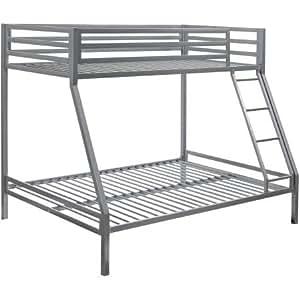 Amazon Com Your Zone Premium Twin Over Full Bunk Bed