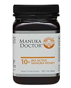 Manuka Doctor Bio Active 10 Plus Honey, 1.1 Pound