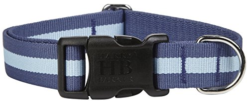 Harry Barker Eton Collar - Blue & Blue - Large - 12-20 inch