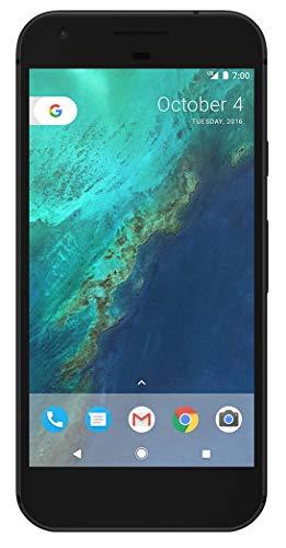 Google Pixel 1st Gen 32GB Factory Unlocked GSM/CDMA Smartphone for AT&T + T-Mobile + Verizon Wireless + Sprint (Quite Black) (Certified Refurbished)