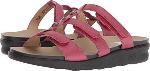 SAS Women's Napoli Sandal (5 B(M) US, Cranberry)