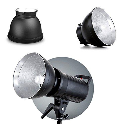 DAVITU 標準リフレクターディッシュ 170x128mm Bowens マウントタイプ 写真スタジオフラッシュストロボスピードライト用   B07H9TKDZH