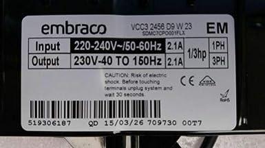 Aikeec Compressor Starter for Embraco QD TSD2 513605500 Haier Refrigerator