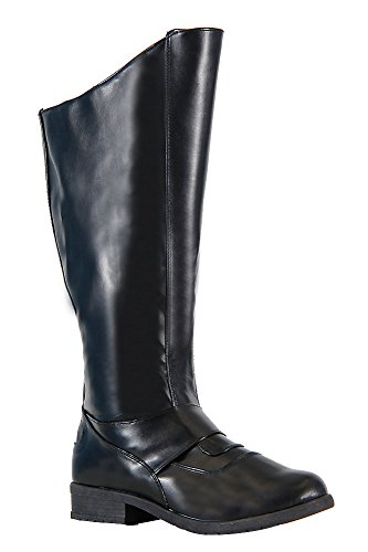 Superhero Gotham Black Costume Boots (Large 12-13)