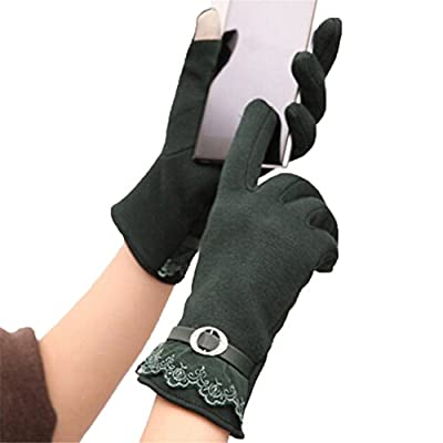 HENGSONG Women's Screen Gloves Warm Lined Thick Touch Warmer Winter Gloves
