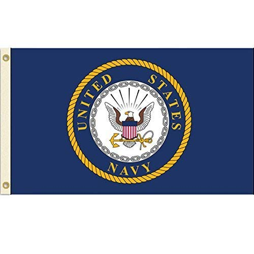 - United States Navy Flag USN Emblem Banner US Military Pennant New 3x5