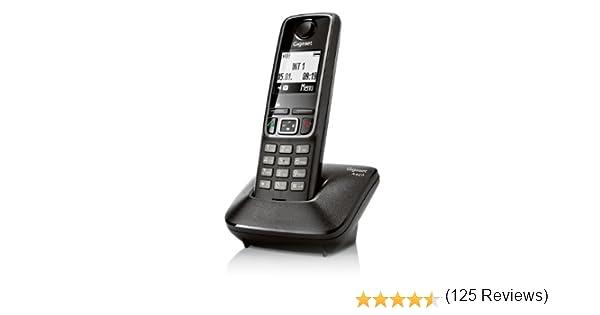 Gigaset A420 - Teléfono fijo inalámbrico, color negro: Gigaset: Amazon.es: Electrónica
