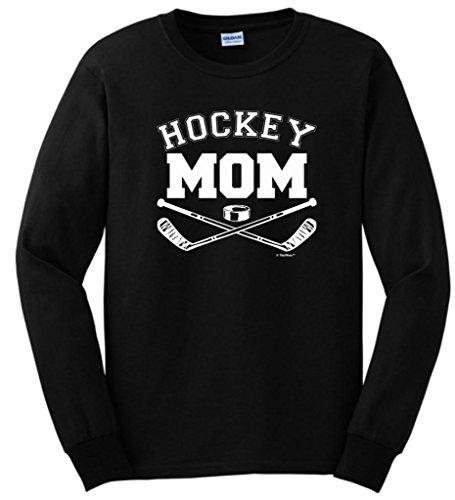 Stanley Hockey Rink - Hockey Mom Long Sleeve T-Shirt 2XL Black