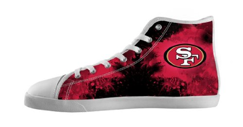 Men's Nonslip High-cut Shoes with Rubber Soles for 49ers ...