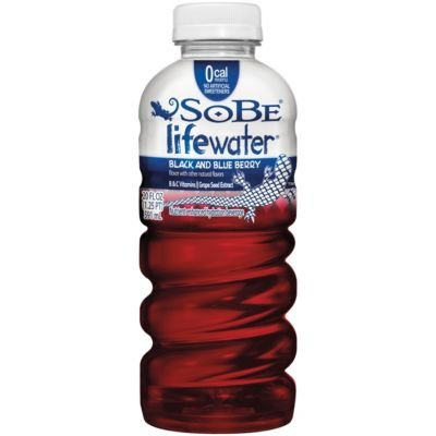 SoBe Lifewater Forti-Fight Black and Blue Berry, 20 oz (Pack of 24) by Unknown