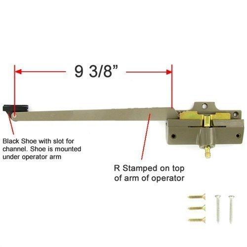 Andersen Straight Arm Operator (Left Hand) 9-3/8