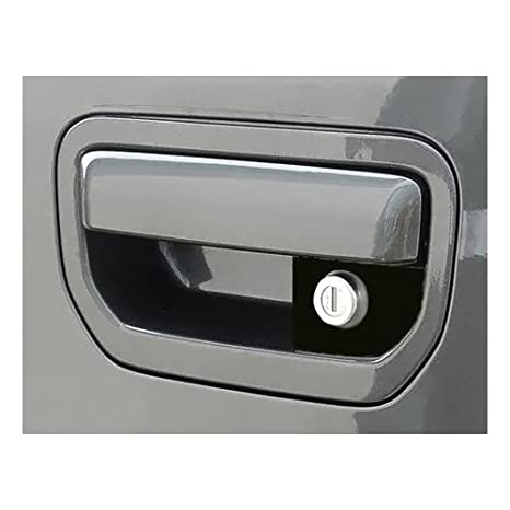 Pop & Lock PL6102 Silver Manual Tailgate Lock with Camera for Honda Ridgeline