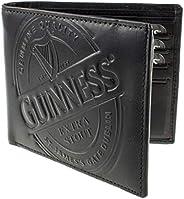 Guinness Black Label 100% Genuine Leather Wallet, 2 Currency Pockets; 2 Slip Pockets; 8 Card Slots Black Colou